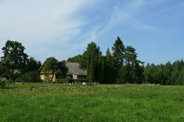 Kazio Inčiūros sodyba Vidugiriuose. Naujasis pastatas. 2014-08-05.